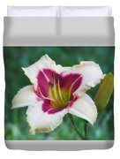 Todd Monroe - Daylily Duvet Cover