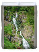 Todtnau Waterfall, Black Forest, Germany Duvet Cover
