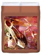 Toe Shoes Duvet Cover