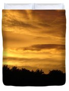 Toffee Sunset Duvet Cover