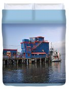 Tofino On The West Coast Of Vancouver Island Duvet Cover