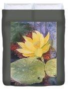 Tohopekaliga Lotus 2 Duvet Cover