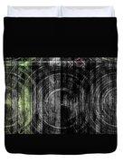 Token Grain Dark Duvet Cover