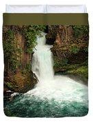 Toketee Falls 4 Duvet Cover
