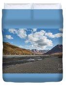 Toklat River Duvet Cover