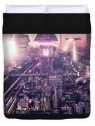 Tokyo 3017 #4 Duvet Cover