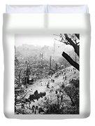 Tokyo Earthquake, 1923 Duvet Cover