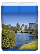 Tokyo From The Palace Duvet Cover