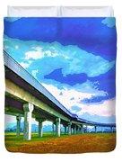 Toll Road Duvet Cover