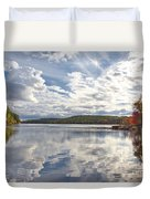 Tolland Lake Two Duvet Cover