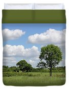 Tolworth Court Nature Reserve In Surrey Duvet Cover