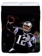 Tom Brady - New England Patriots Duvet Cover
