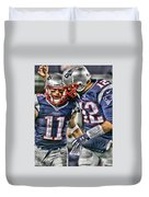 Tom Brady Art 1 Duvet Cover