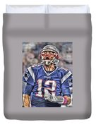 Tom Brady Art 5 Duvet Cover