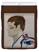 Tom Brady Determined Duvet Cover