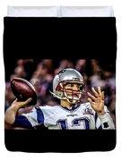 Tom Brady - Touchdown Duvet Cover