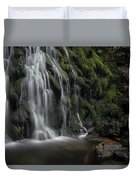 Tom Gill Waterfall, Cumbria, England Duvet Cover