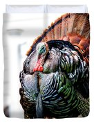 Male Turkey Duvet Cover