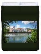 Tomar Cityscape Duvet Cover