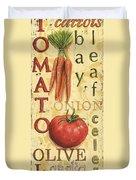 Tomato Soup Duvet Cover