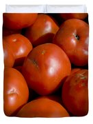 Tomatoes Sit In The Sun Awaiting Buyers Duvet Cover