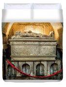 Tomb Of Dom Henrique Duvet Cover