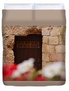 Tomb Of Jesus Duvet Cover