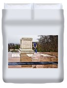 Tomb Of The Unknown Soldiers Duvet Cover