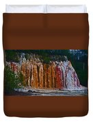 Tombs Land Formation Duvet Cover