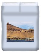 Tombs Of The Nobles Aswan Duvet Cover