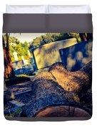 Tombstones Duvet Cover