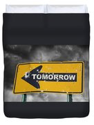 Tomorrow Duvet Cover