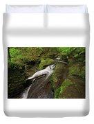 Tompkins Falls Catskills N.y.-7 Duvet Cover
