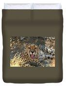 Tongue And Cheek Cheetah Duvet Cover