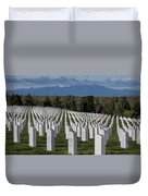 Too Many.. Veteran Cemetery, Santa Fe Duvet Cover