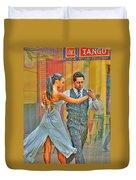 Too Tango Duvet Cover