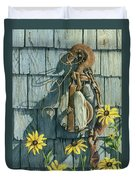 Tool Shed Treasures Duvet Cover