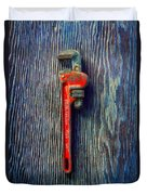 Tools On Wood 62 Duvet Cover