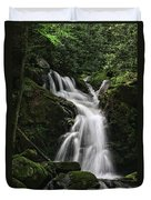 Top Of Mouse Creek Falls  Duvet Cover