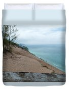 Top Of The Dune Duvet Cover