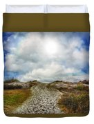 Top Of The Dunes Duvet Cover