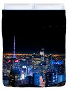 Top Of The Rock 1 Duvet Cover