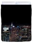 Top Of The Rock 3 Duvet Cover