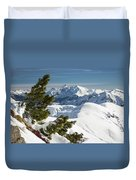 Top Of The Top - Lombardy / Italy Duvet Cover