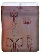 Topophone Patent Drawing 1e Duvet Cover