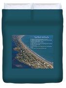 Topsail Beach Duvet Cover