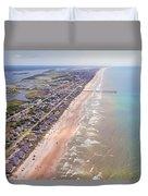 Topsail Buzz Surf City Duvet Cover