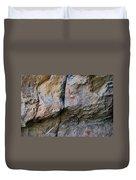Toquima Cave Pictographs Duvet Cover