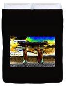 Torii Sunrise Duvet Cover