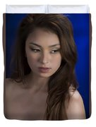 Toriwaits Nude Fine Art Print Photograph In Color 5072.02 Duvet Cover